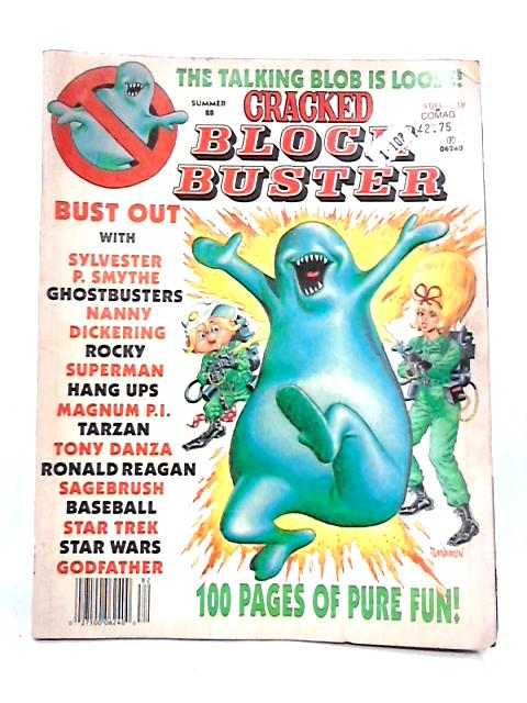 Summer '88 Cracked Block Buster Magazine By Anon