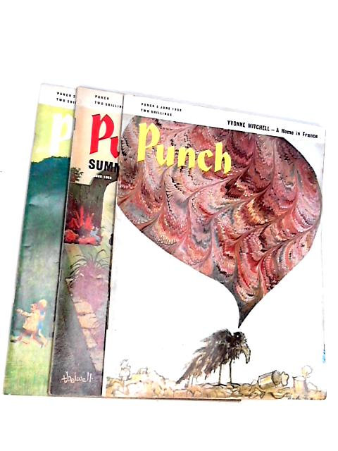 Punch june (3 x Issue - various dates)1968 by Anon