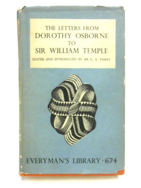 The Letters from Dorothy Osborne to Sir William Temple by Dorothy Osborne