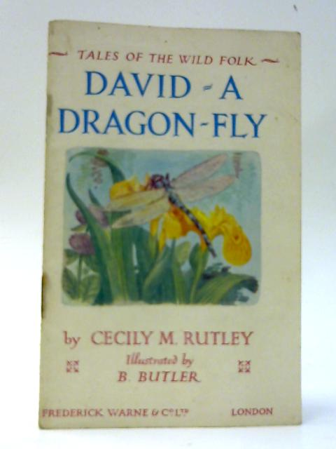 David: a Dragon-Fly (Tales of the Wild Folk) by Cecily M Rutley