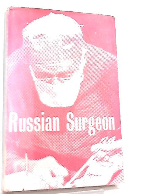 Russian Surgeon By N. Amosoff