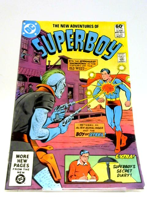 New Adventures of Superboy #23 (November 1981) By DC