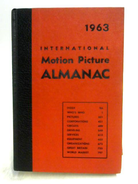 1963 International Television Almanac By Various Peoples