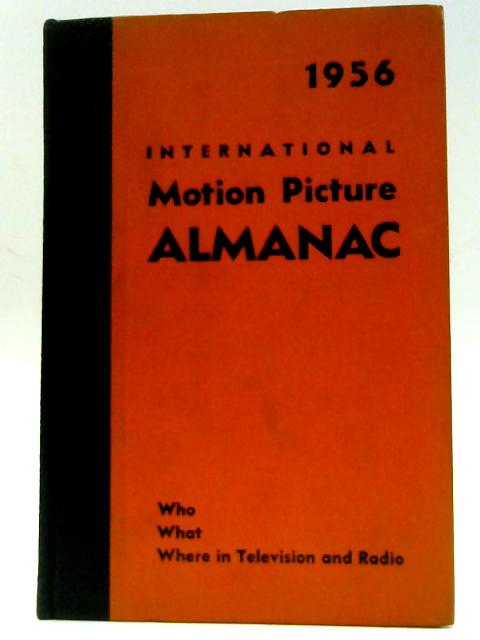 International Television Almanac 1956 By Aaronson, Charles S.