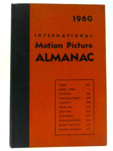 International Motion Picture Almanac 1960 By Aaronson, Charles S.