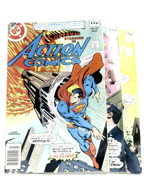Action Comics #497-499 by Various