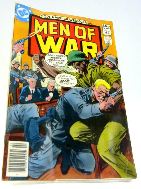 Code Name: Gravedigger in Men of War Volume 4 No 25 by Jack C. Harris