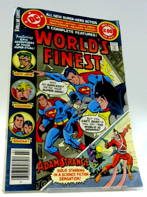 World's Finest Vol 40 #263 by Unknown