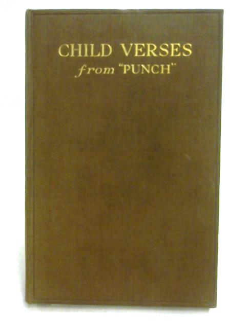 Child Verses from 'Punch' By Various