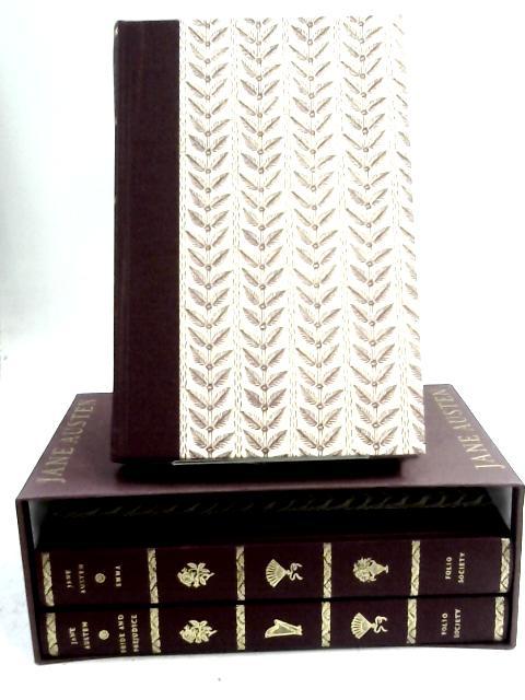 The Classic Novels: 3 Volumes Emma, Sense And Sensibility, & Pride And Prejudice: Folio Society by Jane Austen