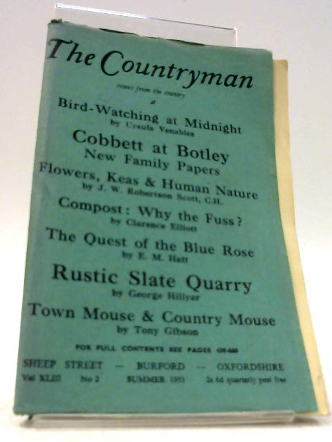 The Countryman: Volume XLIII No.2 - Summer 1951 By Unknown
