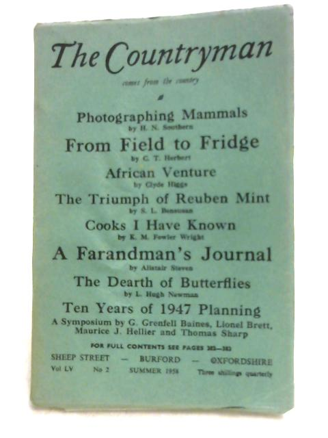 The Countryman: Volume LV No.2 - Summer 1958 by Various