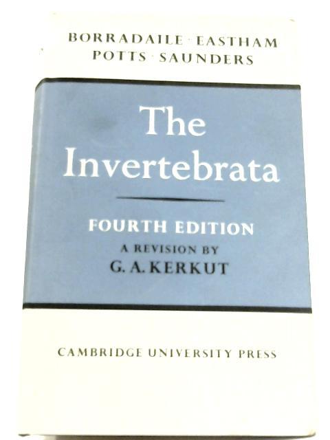 The Invertebrata By L. A. Borradaile & F. A. Potts