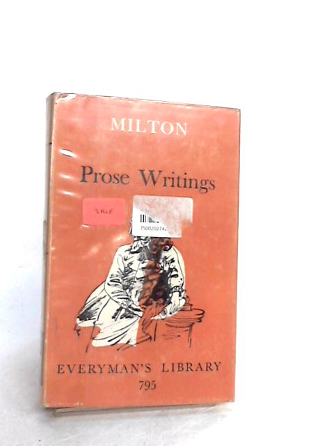 Miltons Prose Writings By Milton, John