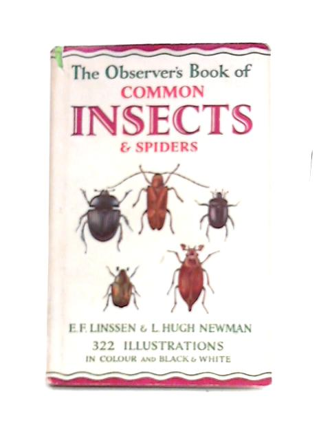 The Observer's Book of Common Insects and Spiders by E.F. Linssen