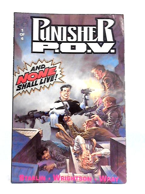 Punisher P.O.V. Vol. 1 No. 1 By Jim Starlin