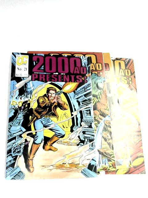 2000 AD Presents: #21-24 By Various