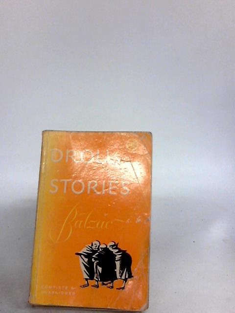 Droll stories by Honore de balzac