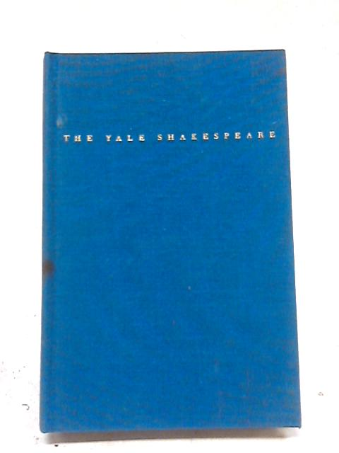 Yale Shakespeare Comedy of Errors By William Shakespeare
