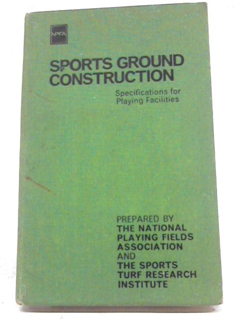 Sports Ground Construction By The National Playing Fields Association