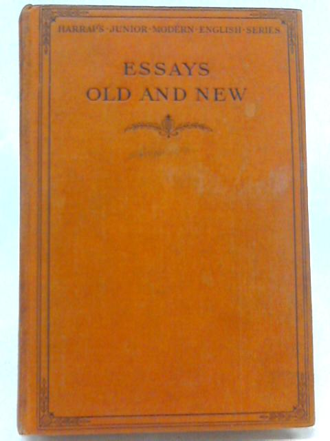 Essays Old And new By H Barnes (editor )