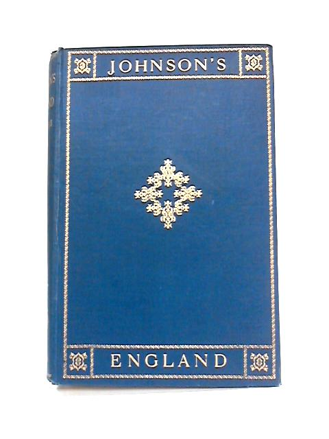 Johnson's England: An Account of the Life and Manners of His Age Vol II By A.S. Turberville (ed)