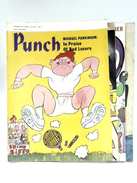 Punch July 1971 (x 4 Issues) By Anon
