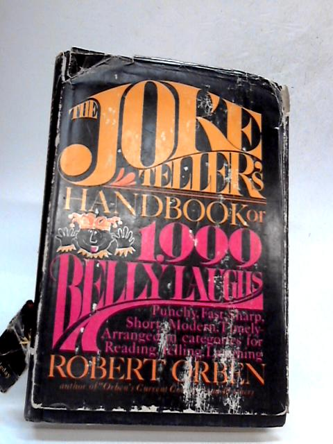 The Joke Teller's Handbook By Robert Orben