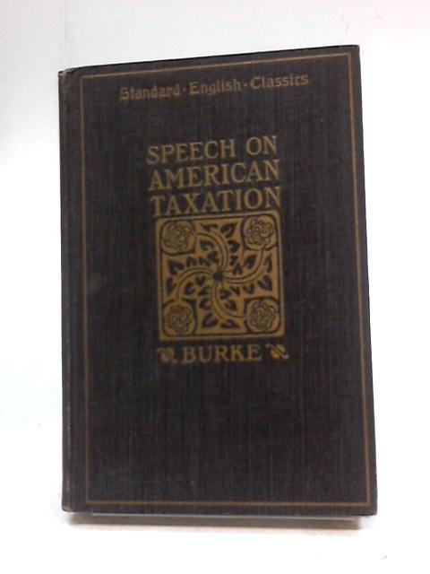 Speech on American Taxation By James Hugh Moffatt