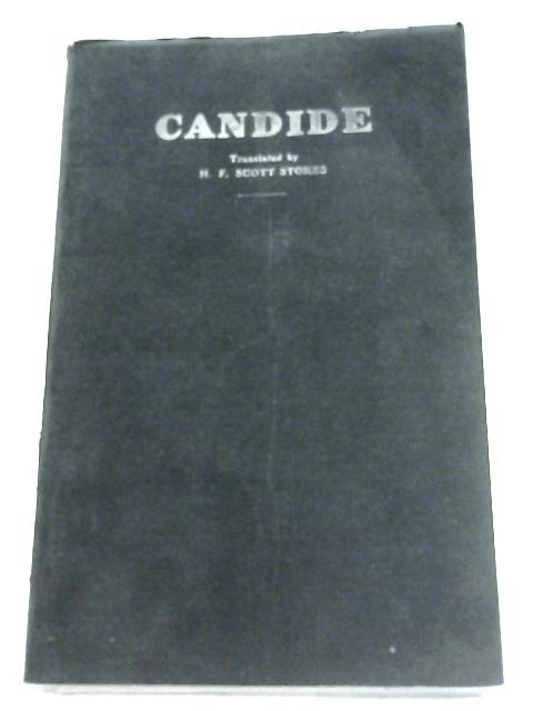 Candide by H. F. Scott Stokes (Translator)