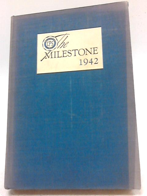 The 1941-42 Milestone By Unstated
