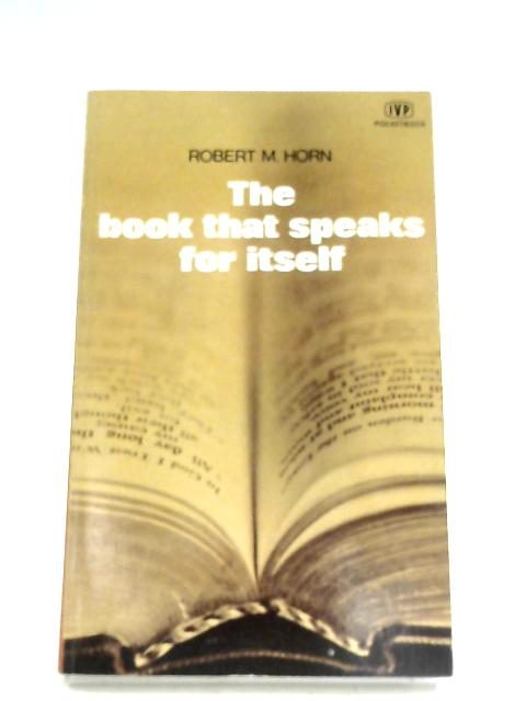 Book That Speaks For Itself By Robert M. Horn