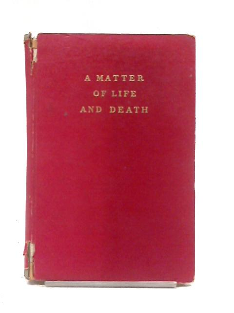 A Matter Of Life And Death. by M Powell And E Pressburger
