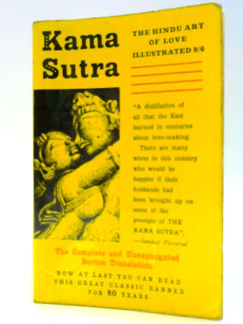 Kama Sutra by No Author Listed.