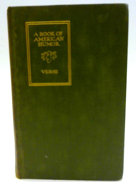 A Book of American Humorous Verse by Various