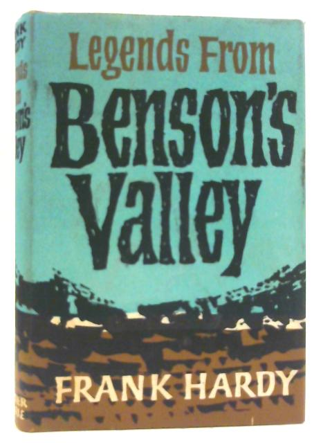 Legends from Benson's Valley By Hardy, Frank