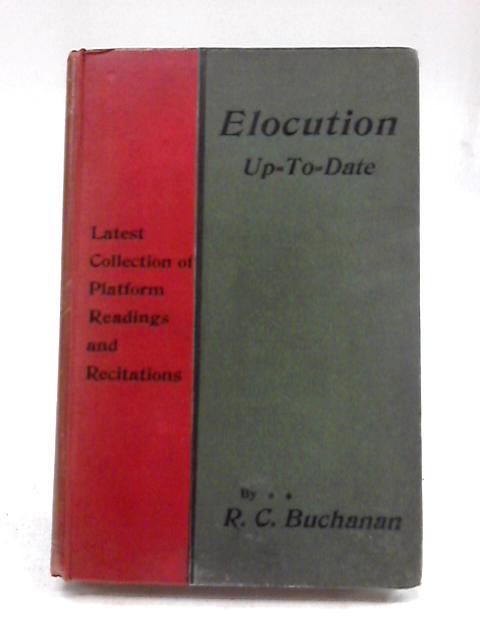 Elocution By R.C. Buchanan