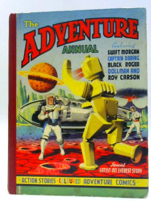 The Adventure Annual By Unknown
