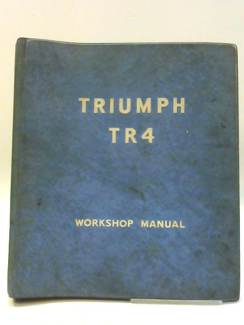 Triumph TR4 Part Number 510322 By Unknown