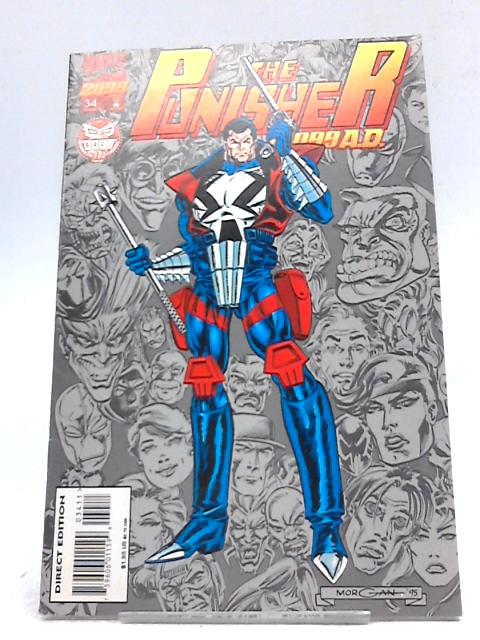 The Punisher 2099 A.D. #34 By Marvel Comics