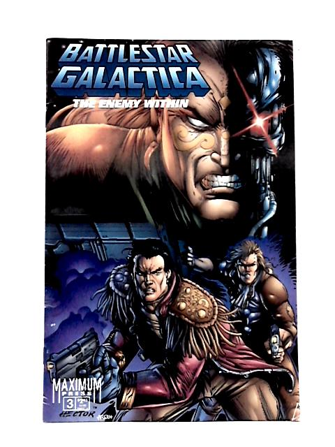 Battlestar Galactica: The Enemy Within No. 3 By Robert Napton