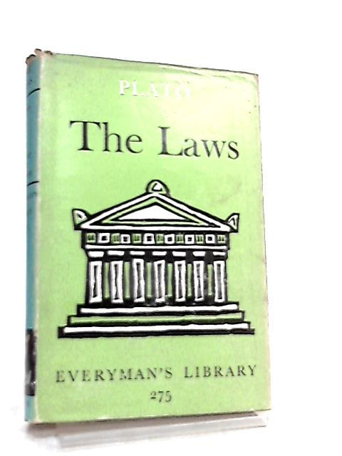 The Laws By Plato, A. E. Taylor