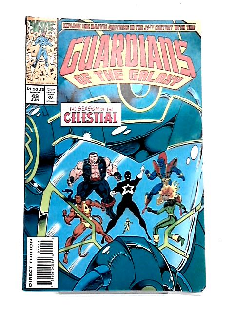 Guardians of the Galaxy: Vol 1 No. 49 By Michael Gallagher