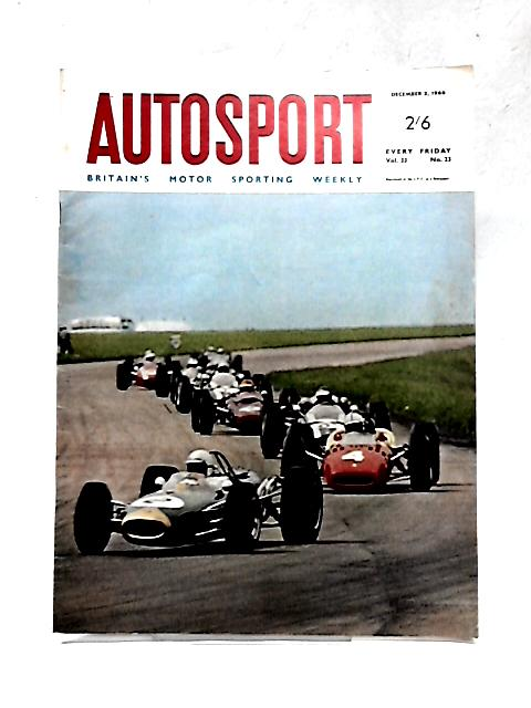 Autosport Magazine: Vol. 33 No 23 December 2 By Various