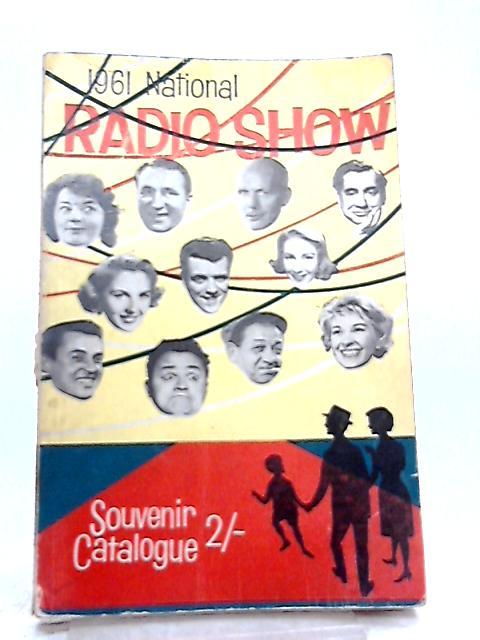 1961 National Radio Show Souvenir Catalogue By Various