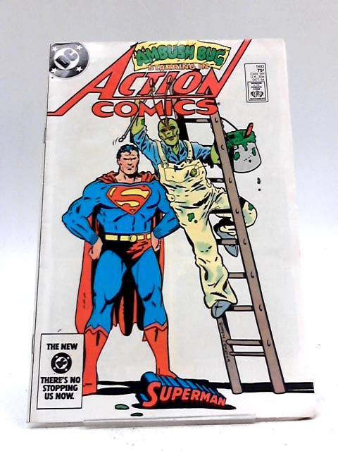 Ambush Bug Starring in Superman Action Comics #560 by DC Comics
