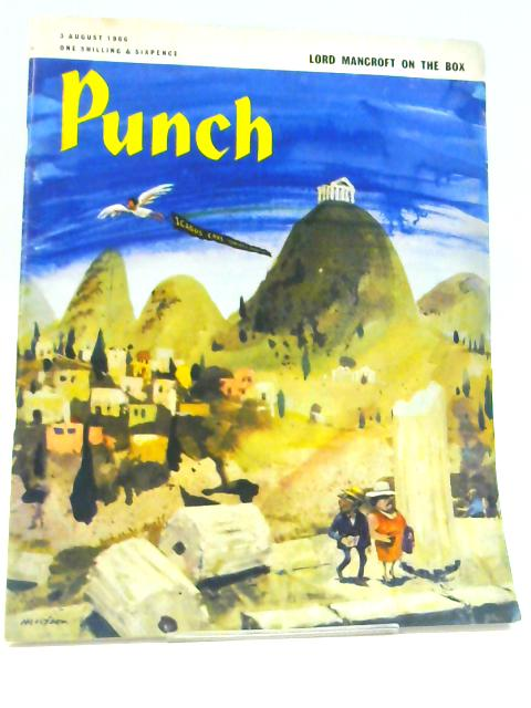 Punch August 1966 (4 x issues) By Anon