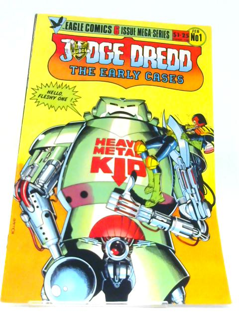 Judge Dredd: The Early Cases # 1 ( Original American Comic ) by Eagle Comics