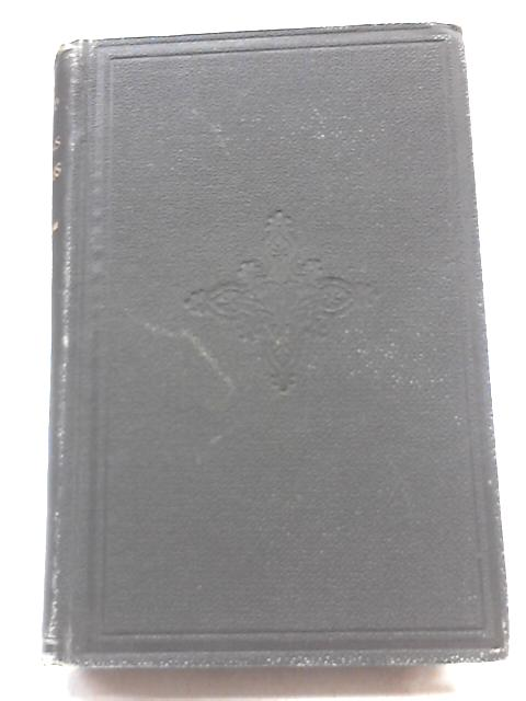 The Legend of Thomas Didymus The Jewish Sceptic. 1881 1st. Edition by James Freeman Clarke