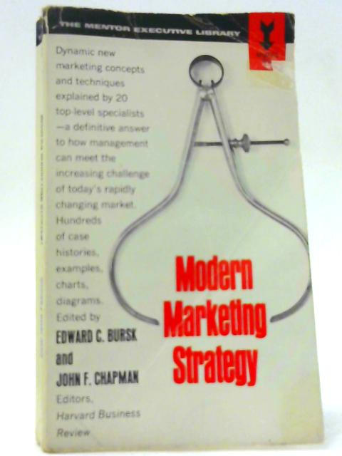 Modern Marketing Strategy (Mentor Books) By Unknown
